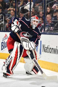 COLUMBUS, OH - FEBRUARY 26: Goaltender Sergei Bobrovsky #72 of the Columbus Blue Jackets defends the net against the Washington Capitals on February 26, 2018 at Nationwide Arena in Columbus, Ohio. (Photo by Jamie Sabau/NHLI via Getty Images)