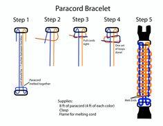 paracord bracelet instructions - Cerca con Google
