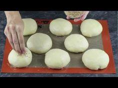 Video panecillos de hamburguesas | webos fritos