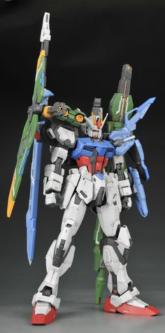 [B43][1/100 GAT-X105 Full Armor Strike Gundam Full Assault + Zero] 100% Progress, Last... - Gundam | Sci-Fi Model - Small T