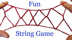 String Tricks! How To Do The Jacob's Ladder String Figure
