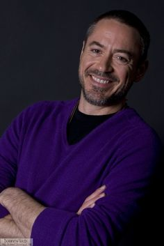 rdj and his purple shirt of sex!