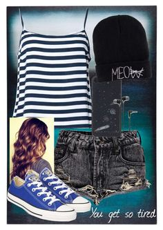 """""""tired"""" by keepmarchingon ❤ liked on Polyvore"""