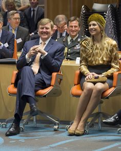 King Willem-Alexander and Queen Maxima of the Netherlands attended the festival Long Live the Club on 25, 2015 in Zwolle, The Netherlands.