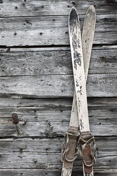 Vintage skis- follow us www.helmetbandits.com like it, love it, pin it, share…