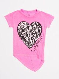 Diamond Heart California High Low Tee by Lauren Moshi - ShopKitson.com