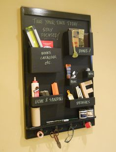 I want to make one of these.  Maybe out of an old cabinet door.