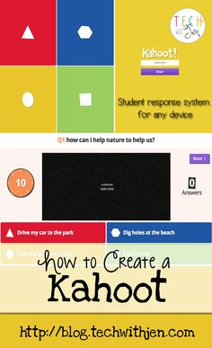 Tech with Jen: Kahoot! Bright Idea for Interactive Student Responses