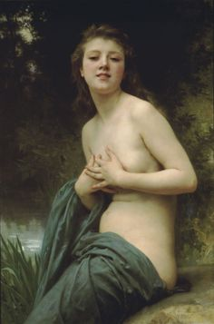 Spring Breeze, by William-Adolphe Bouguereau, 1895