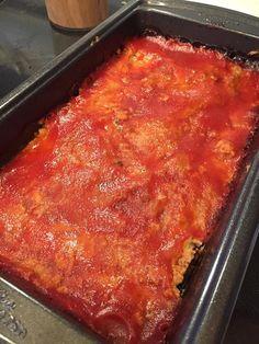 Savory Zucchini Turkey Meatloaf - Fit Mom Angela D - Team Beachbody Coach Zucchini Meatloaf, Turkey Meatloaf, Italian Meatloaf, Fixate Recipes, Cooking Recipes, Healthy Recipes, Healthy Eats, Bariatric Recipes, Healthy Cooking