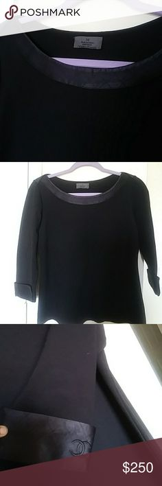 Chanel black blouse Black blouse in good condition CHANEL Tops Blouses