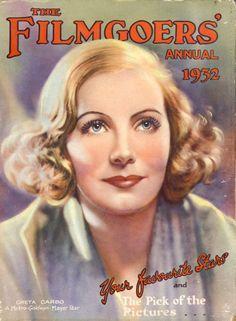 Greta Garbo The Filmgoers Annual 1932