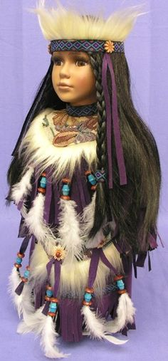 decorative indians dolls