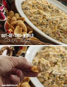 Out-of-this-World Corn Dip | Inspired by Charm
