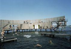 Kastrup Sea Bath in Copenhagen, Denmark (Credits: white arkitekter)