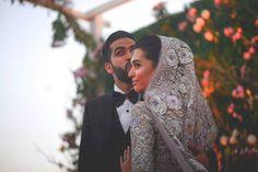 """shaadifashion: """" Sana Ansari in Farah Talib Aziz Mehlum-Sadriwala Studio """""""