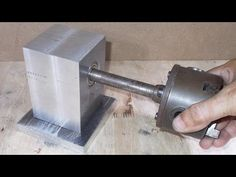 Homemade Wood Mini Lathe DIY Headstock Chuck Spindle Tailstock Slide CNC...