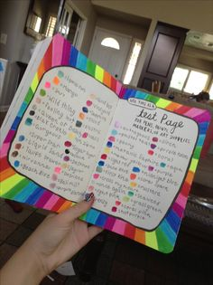 My wreck this journal page testing out all my nail polishes you will know what I mean if ya check out my nails nails nails board :)