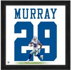 """DeMarco Murray Dallas Cowboys - Officially Licensed 20"""" x 20"""" Uniframe"""