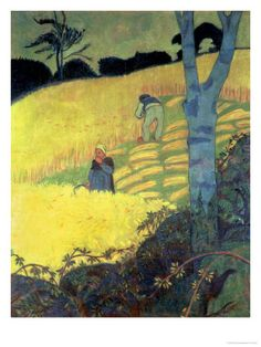 Harvest Scene - Paul Serusier - print from allposters.com: click here