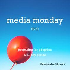 it's media monday, y'all! part 2 #write31days — that abundant life