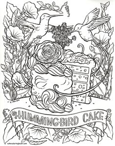 Coloring Book Sample Page