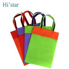 57c0827af19 20 pieces Eco Reusable Shopping Bags Random Cloth Fabric Grocery Packing  Recyclable Bag Simple Design Tote