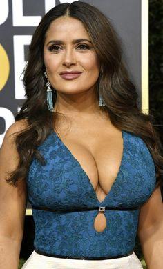 Salma Hayek cleavage