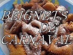 recette facile des beignets de carnaval ou bugnes - bombolino di carnavale - YouTube