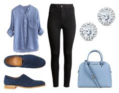 Untitled #10 by marce-castaneda on Polyvore featuring polyvore, fashion, style, H&M, Toast, Michael Kors and Kobelli