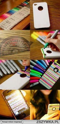 Decorating with Sharpies