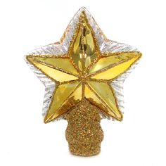 Old World Christmas Small Star Tree Top Tree Topper / Finial