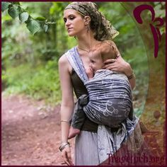 Fidella Tragetuch -Embellished Tree Smoke- #babywearing # tragetuch # baby #tree #grey #forest #nature #green #love