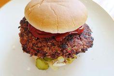 Vegan burger patties by aliizz Hamburger Patties, Hamburger Meat Recipes, Burger Recipes, Vegan Recipes, Vegan Food, Vegan Butter Chicken, Creme Brulee, Snacks, Food And Drink
