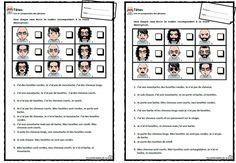 portrait robot, lecture, compréhension, phrases, Cp, Ce1, cycle 2, dixmois