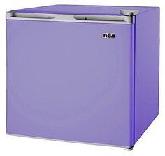 Dorm Mini Fridge Compact Office College University Drink Purple Refrigerator New #RCA