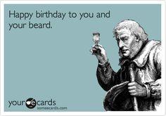 Happy Birthday Beardo Jones!