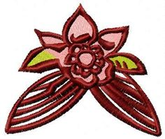 Flower country style free embroidery design. Machine embroidery design. www.embroideres.com
