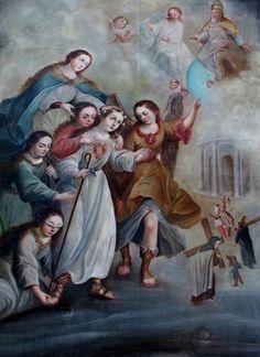José Joaquín Magón: Alegoría del alma cristiana.