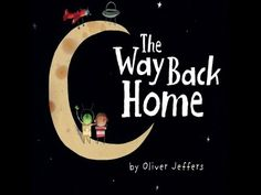 The beautiful 2007 children's book by Oliver Jeffers about a boy who finds a little plane, gets stuck on the moon and meets a Martian who is also stuck on th. Oliver Jeffers, English Spelling, The Way Back, To Infinity And Beyond, The Martian, No Way, Read Aloud, Boys Who, Speech Therapy