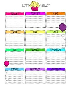 Lesson Plan Binder Forms {Extras}