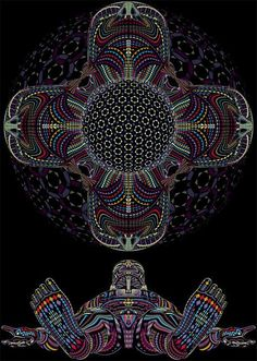 art truth God psychedelic one dmt entheogens Dimethyltryptamine hyperreal OBE Out-Of-Body Experience CEV OEV Closed-Eye Visuals Open-Eye Vis...