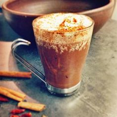 """Rich Spiced Hot Chocolatee 