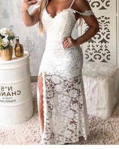 Gorgeous Prom Dress Spaghetti Evening Dress High Side Slit Party Dress Mermaid Party Dress Lace Pro on Luulla Dress Attire, I Dress, Lace Dress, Gorgeous Prom Dresses, Sexy Dresses, Formal Dresses, Mermaid Prom Dresses, Prom Party Dresses, Wedding Dress Accessories
