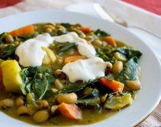 Black Eyed Pea Vegetable Stew (without yogurt)
