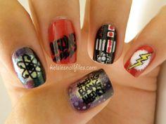 BIG BANG THEORY Nails - Kelsie's Nail Files