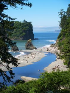 Ruby Beach, by Michael Brunk.Ruby Beach, Olympic Peninsula, Washington.