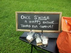 Wedding favors - smores (put in a jar?)