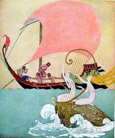 Cover art from The Adventures of Odysseus and The Tale of Troy   By Padraic Colum, Willy Pogány