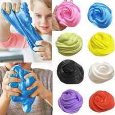 Frank 50g Kid Christmas Diy Slime Modeling Clay Fluffy Foam Cotton Mud Sludge Toy Modeling Clay Toys & Hobbies